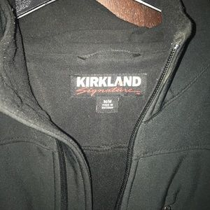 Kirkland Black Size Medium Water Proof Jacket